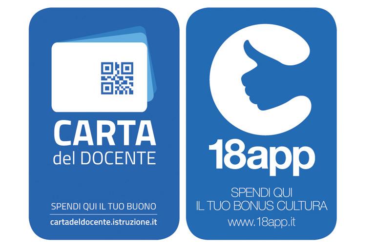 BONUS 18APP E CARTA DEL DOCENTE