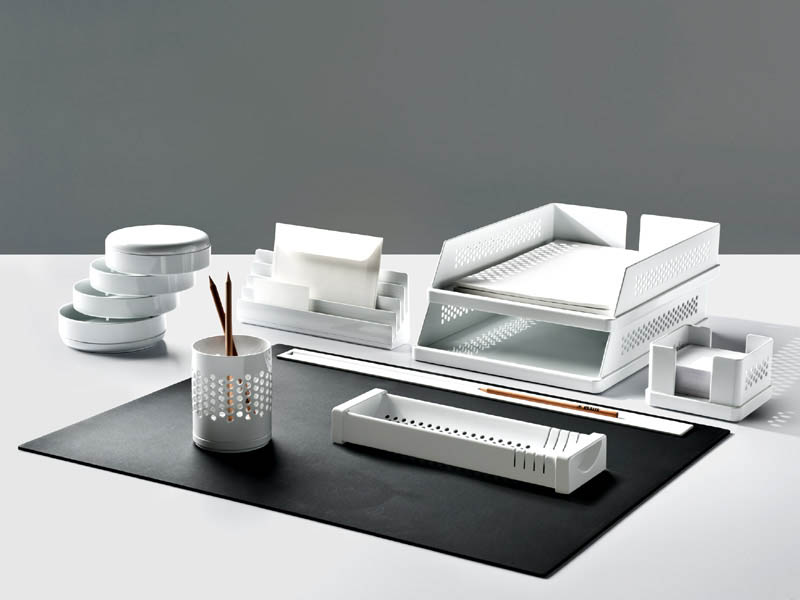 Oggetti Per Ufficio : Forniture ufficio: portaoggetti set scrivania materiale per ufficio